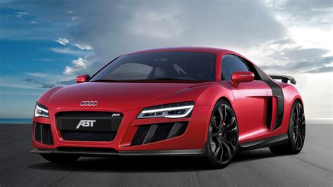 2013 Abt Audi R8 V10 Red Supercar