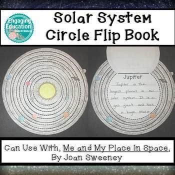 solar system circle flip book  engaging education