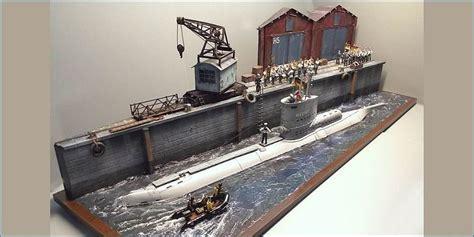 U Boat Model by German U Boat Submarine Model Kit Build