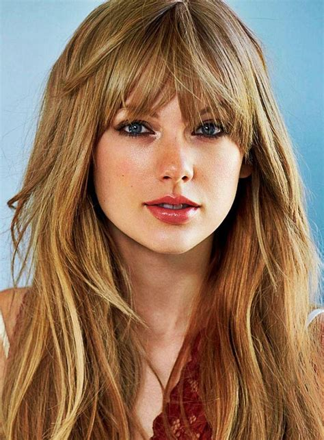 collection  long haircuts  bangs  oval faces