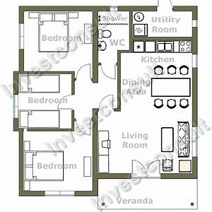 gorgeous modern style two bedroom house plans design ideas With modern two bedroomed house plans