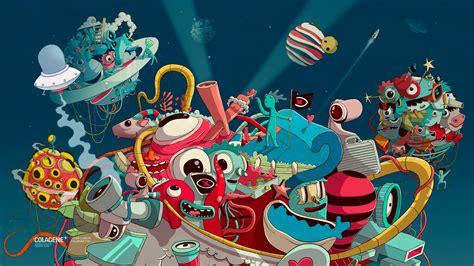 wallpaper artwork colorful  art