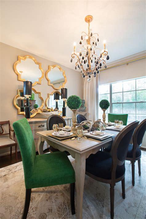 green dining room ideas amanda carol interiors emerald green gold mirrors