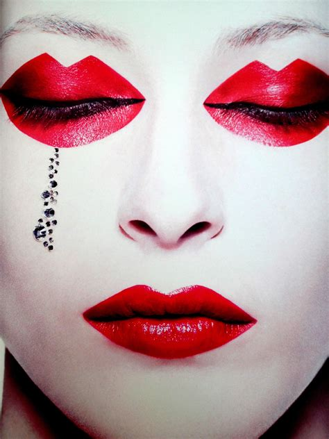 eccentric makeup  photography  rankin scene