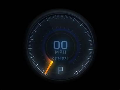 Dial Speed Animated Dribbble Ui Dashboard Digital