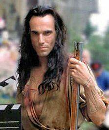 Daniel Day Lewis as Hawkeye - The Last of the Mohicans ...