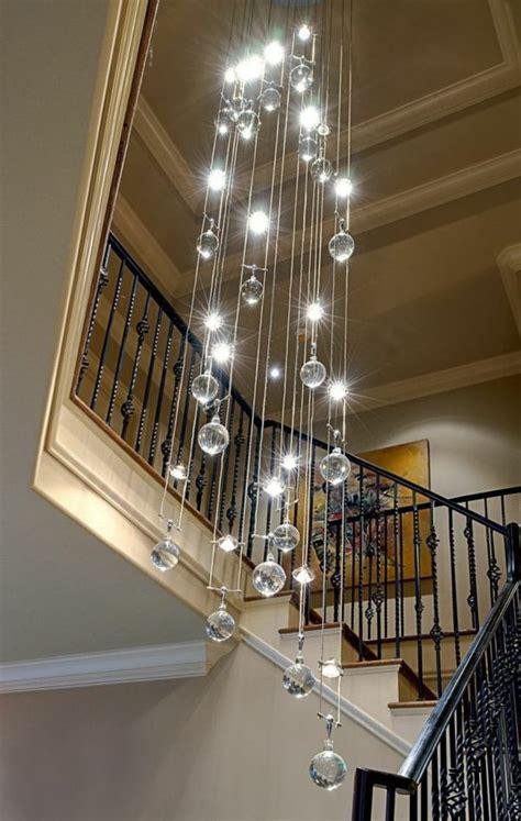 in stock pendelleuchte modern kristall galvanisiert charmant len flur treppenhaus home design ideas qqx me
