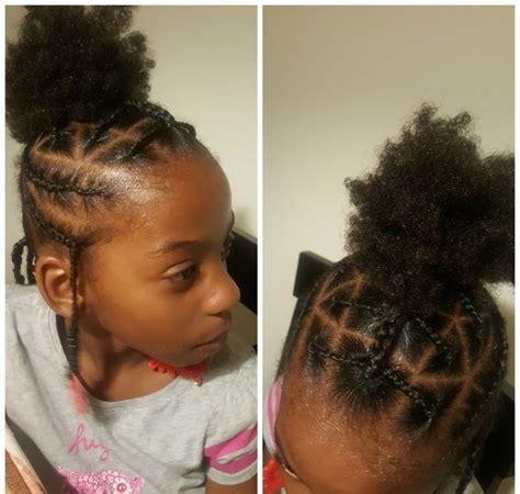 simple hair styles   black girls braids beads