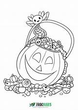 Halloween Candy Coloring Fun Yourself Want Don sketch template