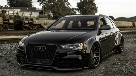 black audi stylish black audi a4 avant wallpapers and images
