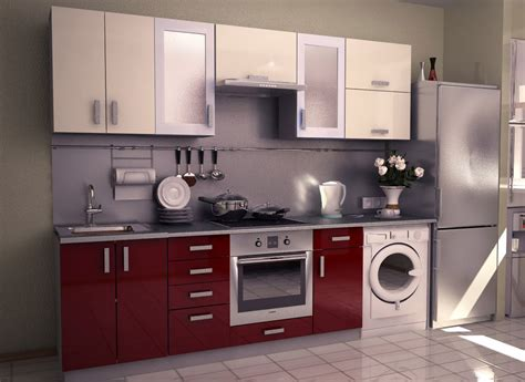 furniture in the kitchen modular kitchen at factory price