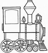 Train Steam Coloring Locomotive Engine Clipart Clip Cliparts Template Pages Trains Front Panda Clipartpanda sketch template