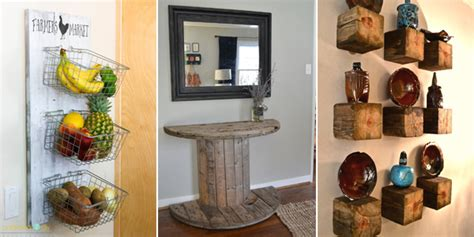 31 Rustic Diy Home Decor Projects: 50 Rustic DIY Home Decor Projects