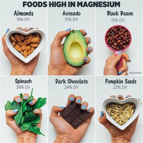 magnesium rich foods rawsomehealth