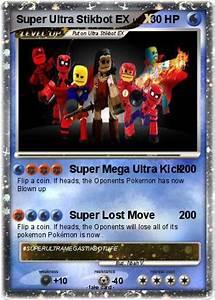 Pokémon Ultra Stikbot EX - Super Mega Ultra Kick - My ...