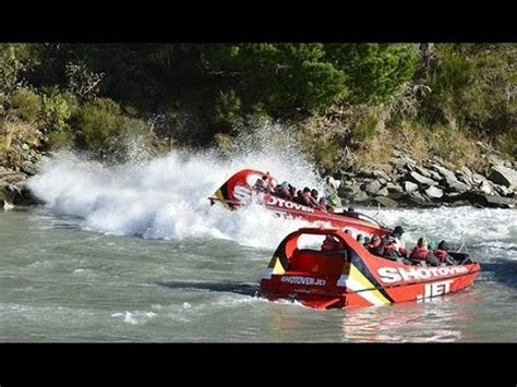New Zealand Jet Boat Accident by Shotover Jet Boat Ride Queenstown New Zealand Doovi
