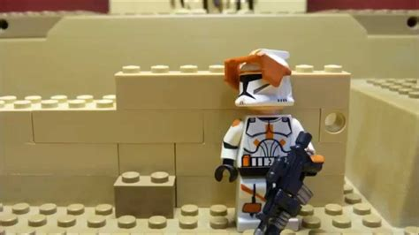 Lego Star Wars Clone War Stop Motion Mini Movie Clone