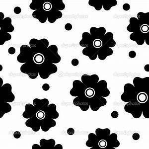 Simple Black And White Flowers Patterns | www.pixshark.com ...