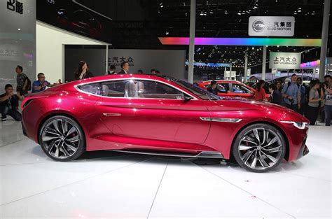 Mg Emotion Ev Sports Car For Production In 2020 Autocar