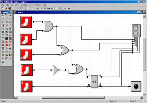 digital logic design digital logic circuit design simulator software