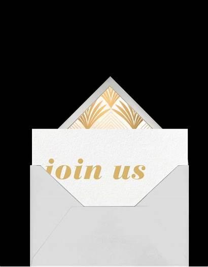 Invitation Elegant Animated Behance Evite