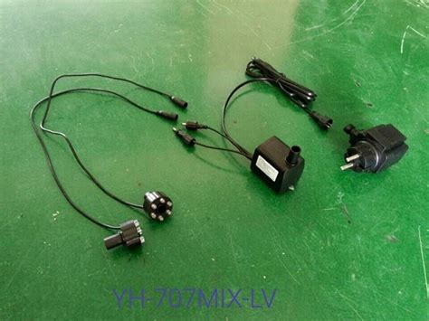 voltage yuanhua fountain submersible water pump