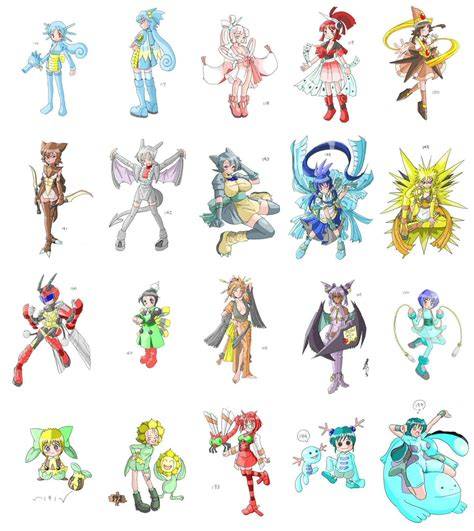 The following is a list of female characters appearing in any pokémon media. Pokemon Anime Girls   The Escapist