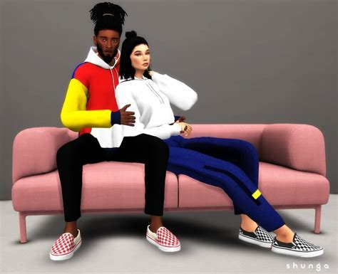 VANS Slip ons at Shunga » Sims 4 Updates