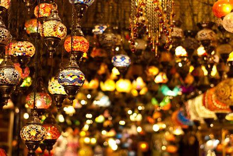 turkish lamps  grand bazar  istanbul explore