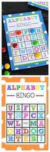 free printable alphabet bingo With letter bingo game