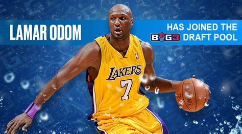 lamar odom joins big draft pool big