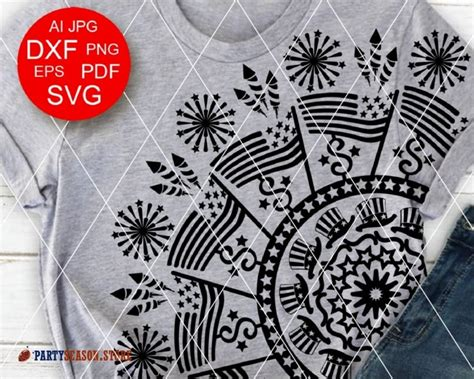 Download free united states flag graphics and printables including vector images, clip art, and more. Mandala svg Independence day