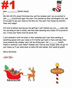 personalized letter from santa elemeno p kids With personalized letter from santa