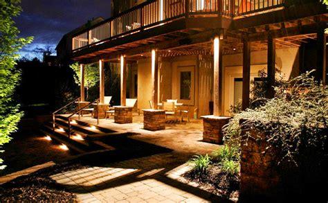 residential landscape lighting design naturescape lighting