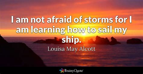 louisa  alcott    afraid  storms