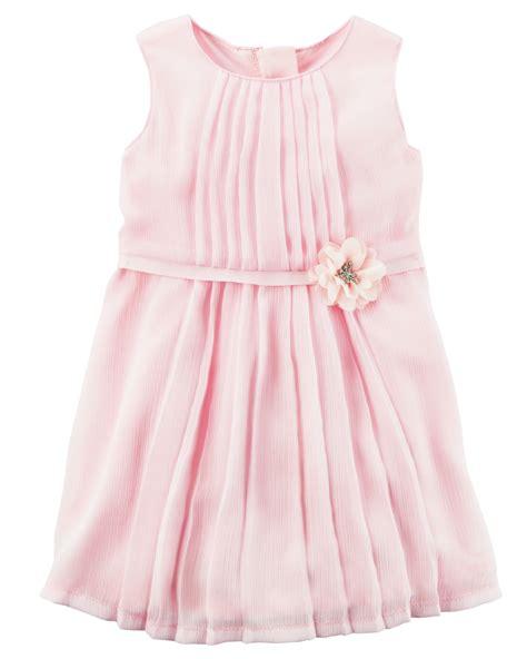 Dress Baby Angsa baby rosette chiffon dress carters
