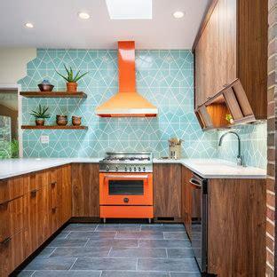 beautiful mid century modern ceramic floor kitchen