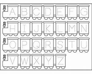 traceable letter worksheets to print activity shelter With letters and numbers for toddlers
