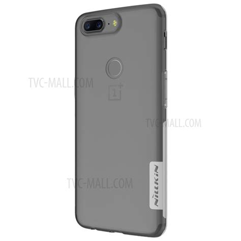 nillkin nature tpu oneplus 5t nillkin 0 6mm nature tpu cover for oneplus 5t white