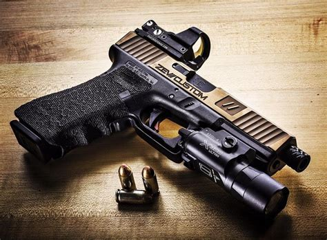 glock tricked polymer80 build guns gun hand clock firearms