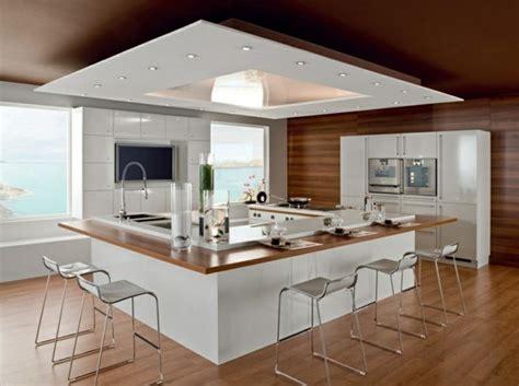 cuisine design italienne avec ilot ilot central cuisine design les plus belles