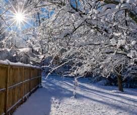 Beautiful Country Snow Scenes