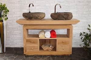 Badezimmer Waschtisch Mit Unterschrank : waschtischunterschrank stehend holz ah42 hitoiro ~ Michelbontemps.com Haus und Dekorationen