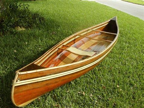 wooden canoe planking  build    pinterest