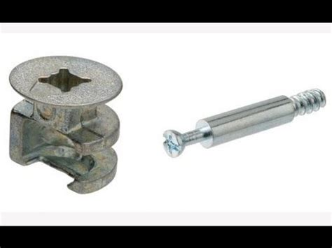cubby shelf furniture lock and nut