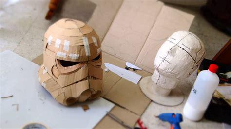 cardboard armor template make stormtrooper helmet part 1 cardboard free how to funnycat tv