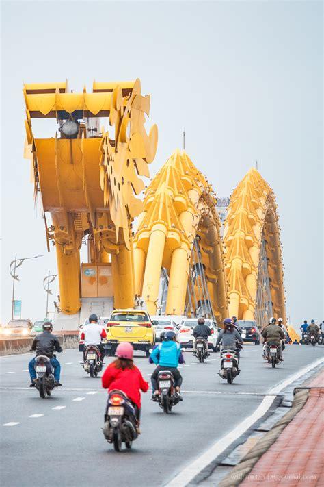 dragon  da nang dragon bridge vietnam wt journal