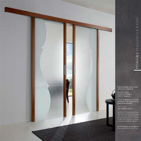 porte scorrevoli legno e vetro 2 ante scorrevoli in vetro da mdb portas nurith novate