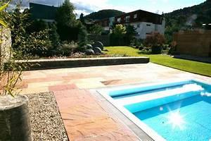 Terrasse Mit Pool : sandstein schubert stone naturstein ~ Yasmunasinghe.com Haus und Dekorationen