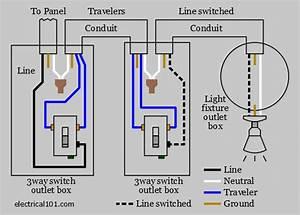 3-way Light Wiring